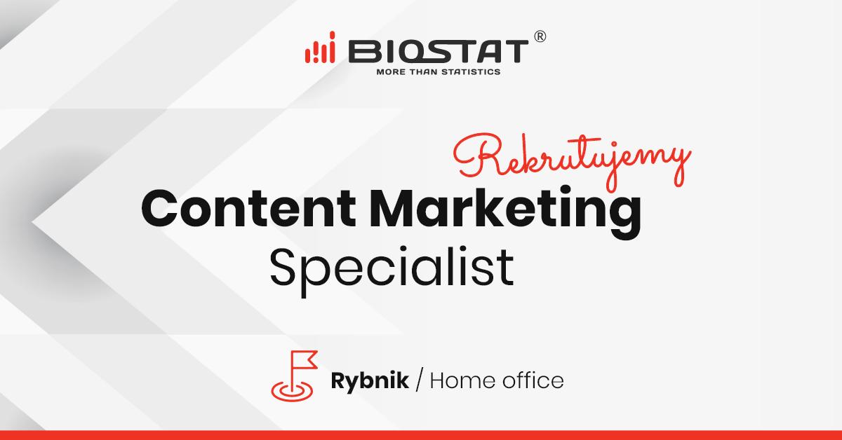 content marketing specialist - praca rybnik